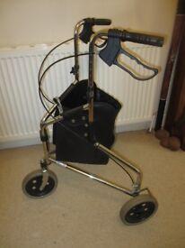 Tri-walker mobility aid wheeled Mobility walking frame - £20.00