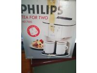 Vintage philips tea for two