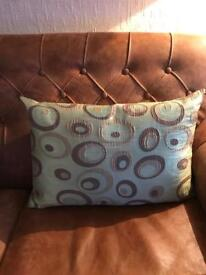 Set of 4 green cushion covers 60cm x 40cm