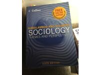 Sociology: themes and perspectives textbook