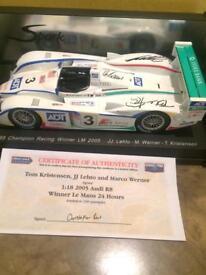 Kristenson , Lehto , Werner signed Audi R8