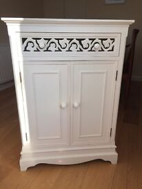 Children's bedside table and cabinet