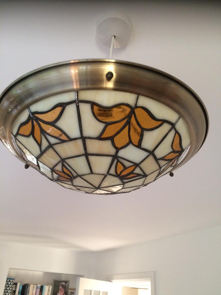 Tiffany style vintage lamp shade