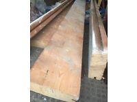 Pine reclaimed 9x3 joists