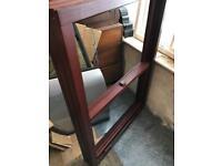 Varnished Sash Window, Timber Frame (brand new) 100cm x 140cm