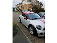 MINI COUPE JOHN COOPER WORKS LOW MILEAGE 62 PLATE TURBOCHARGED