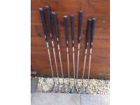 Hippo IQ Golf Irons (3 iron to Pitching Wedge. No sand wedge)