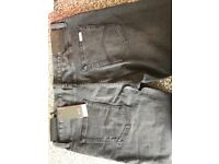 Armani exchange jeans brand new with labels payed £100 black 33 waist 32 leg
