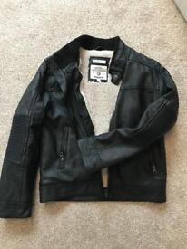 Rocha John rocha boys leather coat