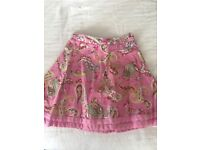 Girls skirt by JOULES age 3yrs