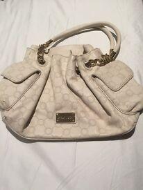Oroton white handbag