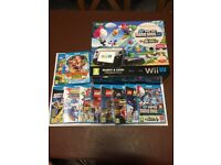 Wii U 32gb Mario and Luigi Premium Package + 13 games