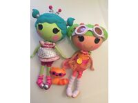 2 x Lalaloopsy dolls in great condition
