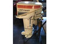 Johnson sea horse 1982 15hp 2 stroke