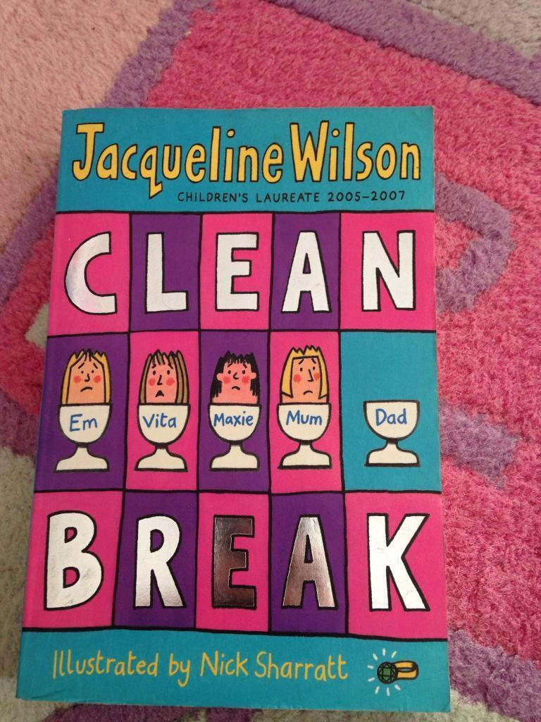 Clean breakin Norwich, NorfolkGumtree - Clean break book by Jacqueline Wilson. In good condition. Collect from costessey