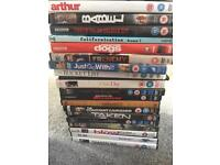 19 DVDs Various