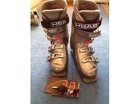 Ski Boots - Size 5 - 5.1/2