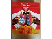 Brand new, boxed old spice
