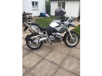 Gs 1200 ex condition - 2006 - part bmw service history , mot 1year , new back tyre , £4000 Ovno