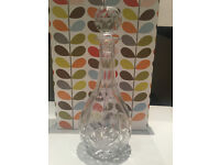 Edinburgh Crystal Cut Glass Tear Drop Decanter