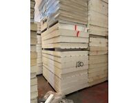 Insulation Boards Seconds 1.2 x 2.4 x 180ml foil both sides : £45.00 each