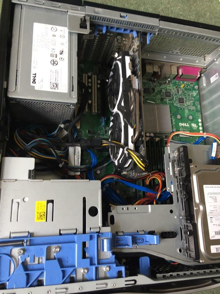 Dell T5500 - GAMING/WORKSTATION PC - RX 580 8GB - intel Xeon x5670 - RUNS  GAMES AT 1440p! | in Longlevens, Gloucestershire | Gumtree