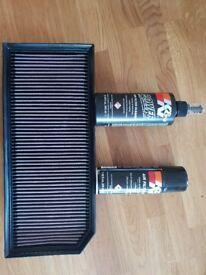 K&N panel filter for 2.0 VAG AUDI VW SKODA SEAT