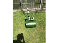 Vintage Qualcast self propelled petrol lawnmower