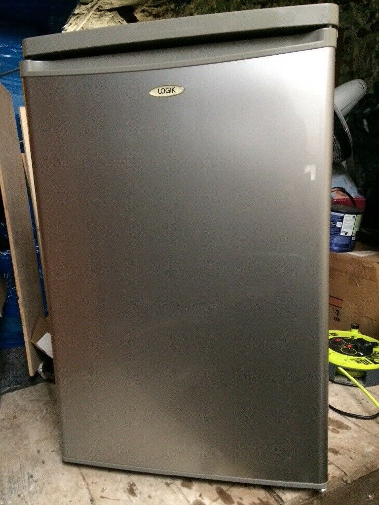 Undercounter freezer excellent condition silver