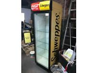 Coca Cola Schweppes Large Retail Display Refrigerator Fridge