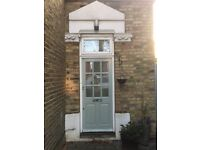 off Chiswick High Road 1 bedroom flat with own front door and patio garden . INC ELEC GAS AND WATER