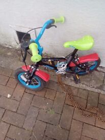 Childs bicycle.very small.