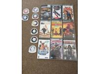 PSP games and video for sale only £2 each! Or any deal accepted