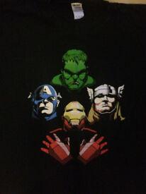 The Avengers Men's XL tshirt - £5.00