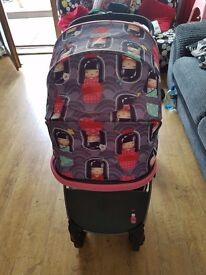 Kokeshi smile pram also goes into a buggy great wee pram only 10 months old