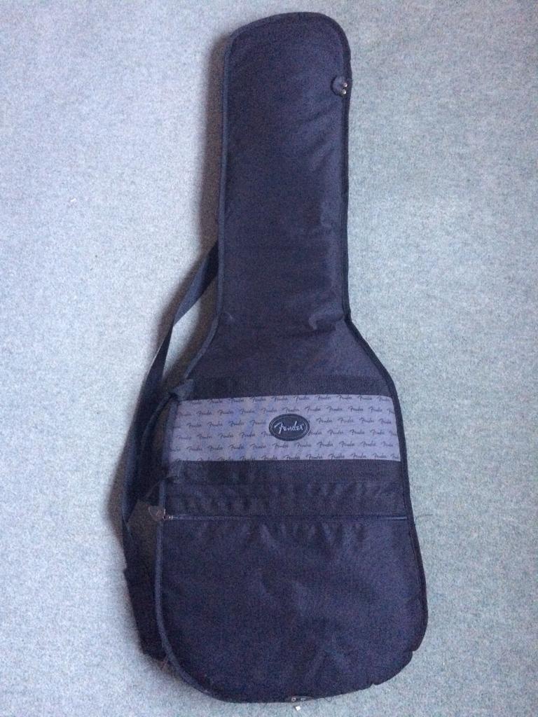 Fender bass guitar gig bag case