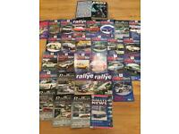 Rally news and fast ford magazines
