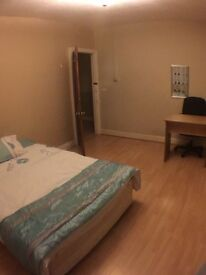 Furnished double room available in shared professional house