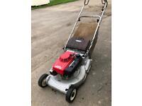 Honda HR216 QX self propelled lawn mower