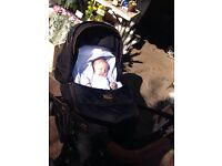 Silver cross limited edition country club pram pushchair and accessories