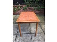 Tiled Top Table