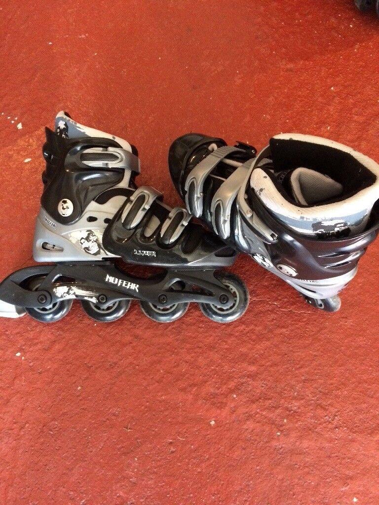 Inline Skates size adult 5-8 (extendable)