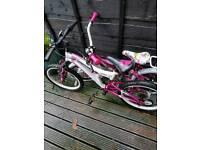 2 girls bikes .