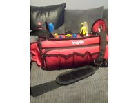 Maplin tool box carrier with tools and strap