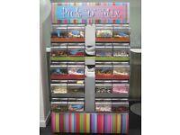 Retro Metal Pick and Mix sweetie stand with 20 slow closing lids which hold 3 kg each. Pic N Mix