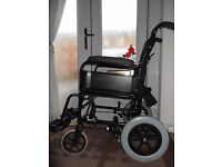 Wheelchair (Invacare) Solid/Compact - Ex.Con.