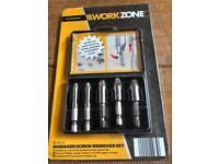 5 pieces damaged screw remover set