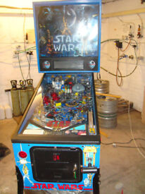 WANTED ARCADE PINBALL MACHINE FLIPPER