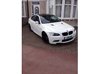 BMW M3 replica e92 2008 320i coupe alpine white HPI clear FSH 76,000 A5 C63 RS5