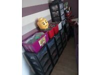 Job lot of Lego and storage